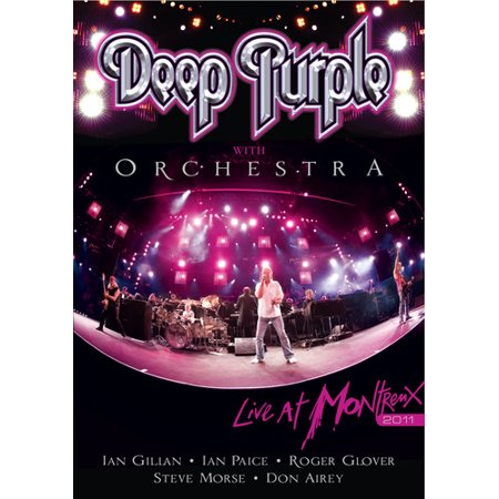 Deep Purple With Orchestra: Live in Montreux 2011 (DVD) (Santana Live At Montreux 2011)
