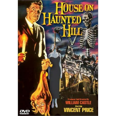 House on the Haunted Hill (DVD) - Halloween On The Hill Richmond