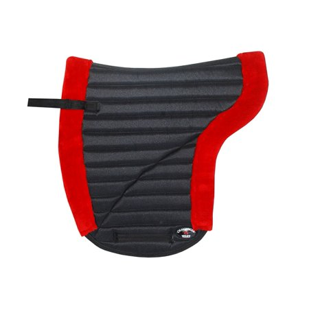 Horse English SADDLE Pad Contour Close Contact Jumping Fleece red 12226RD