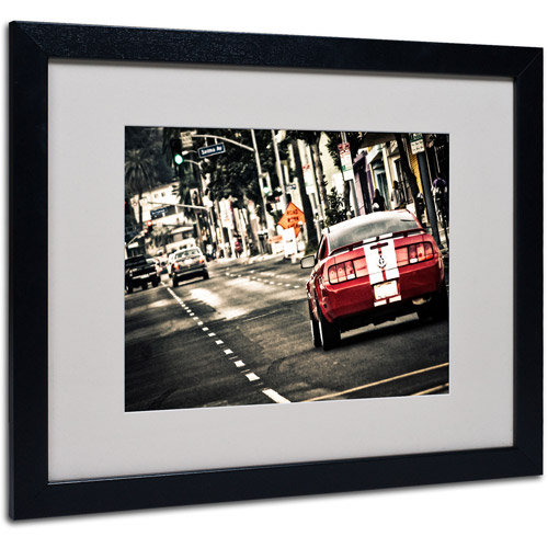 "Trademark Fine Art ""As a Move"" by Giuseppe Torre, Black Frame"