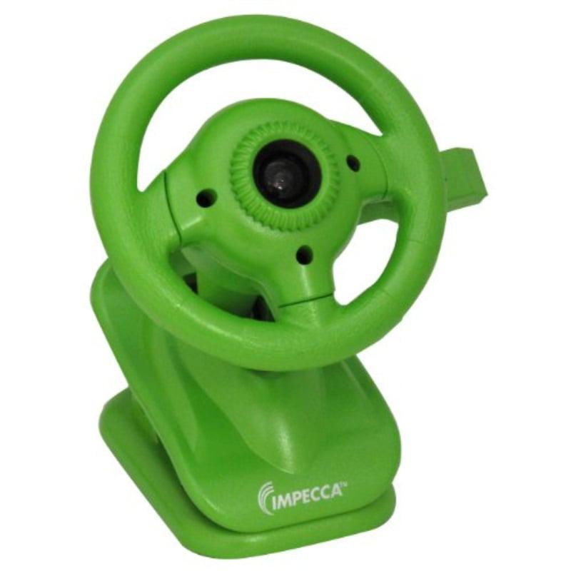 Steering Wheel Webcam with Built-in Mic Green