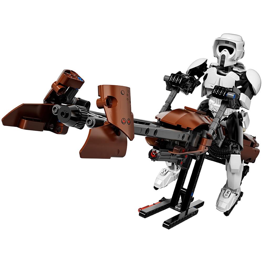 Lego Star Wars Scout Tm Trooper Speeder Bike 75532 Walmart