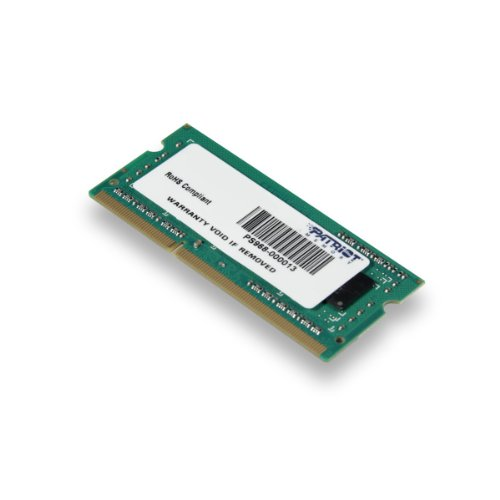 Patriot Memory Signature 4gb Ddr3 Sdram Memory Module - 4 Gb - Ddr3 Sdram - 1600 Mhz Ddr3-1600/pc3-12800 - 1.50 V - Non-ecc - Unbuffered - 204-pin - Sodimm (137598)