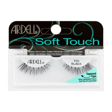 e7b1cdea727 (3 Pack) ARDELL Soft Touch Lashes - 150 Black - Walmart.com