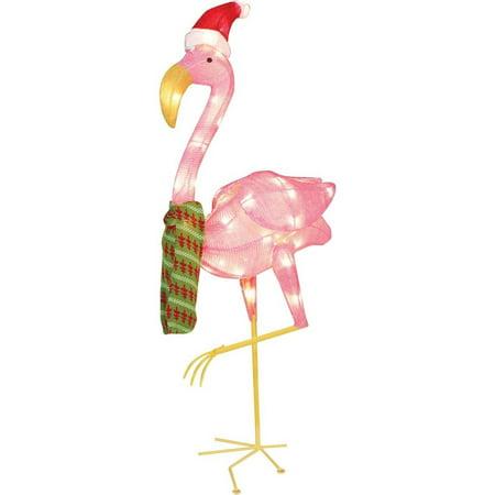 Flamingo Christmas Decorations Outdoor
