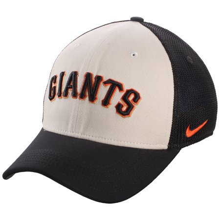 5ff90a30 San Francisco Giants Nike Vapor Performance Swoosh Flex Hat - White/Black -  Walmart.com