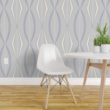 Peel and Stick Removable Wallpaper Modern Retro Incognito Over Scale A