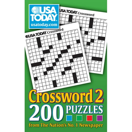 USA TODAY Crossword 2 : 200 Puzzles from The Nations No. 1 Newspaper