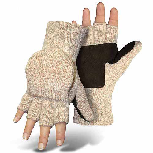 Boss Gloves Mitt Flap Ragg Wool Gloves