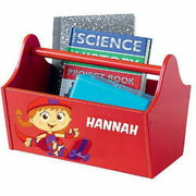 Personalized Super Why! Wonder Red Toy Caddy