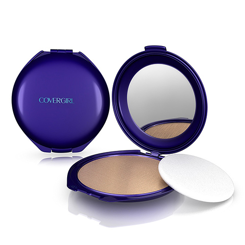 Covergirl Smoothers Pressed Powder Foundation 715, Translucent Medium-N - 0.32 Oz, 2 Ea, 3 Pack
