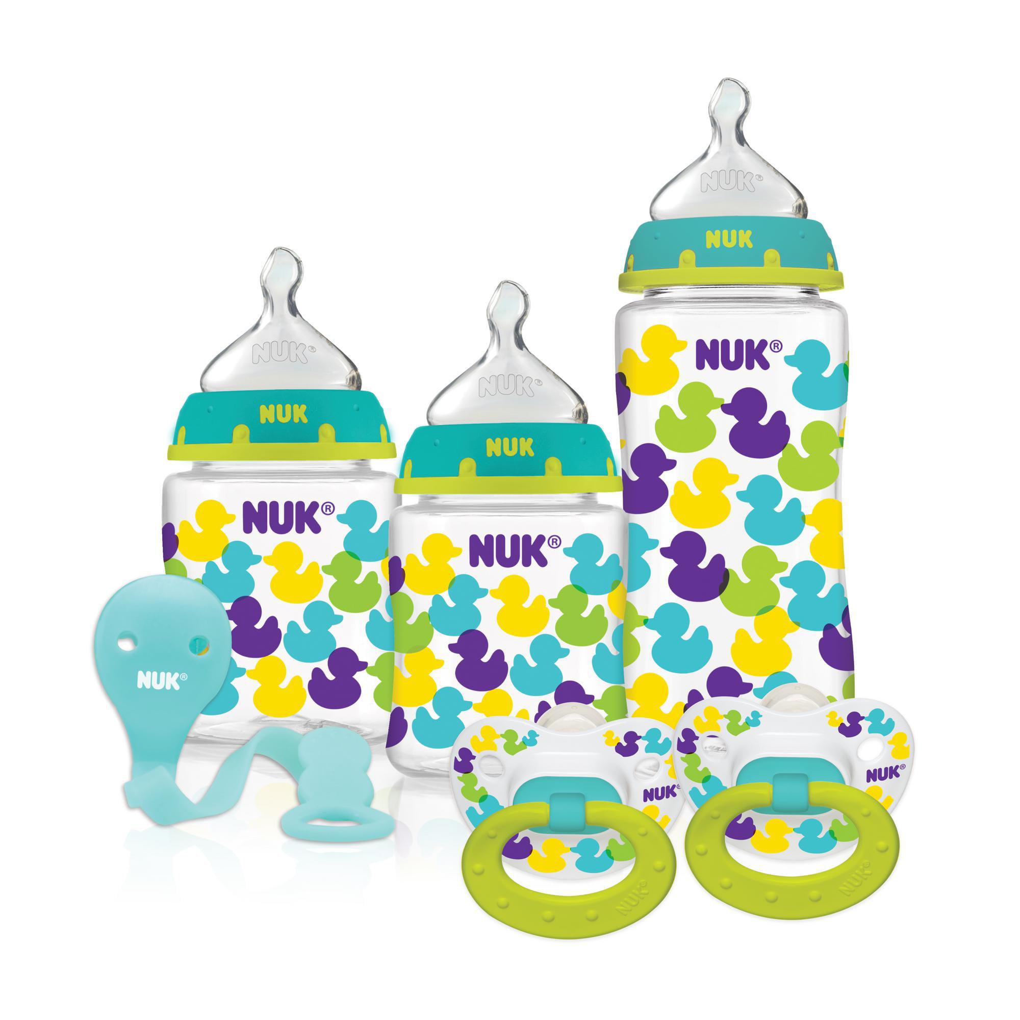 NUK 3-Bottle, 2-Pacifier Bonus Gift Set