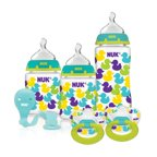 NUK 3-Bottle, 2-Pacifier Bonus Gift Set