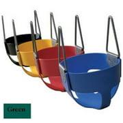 Jensen S107G Residential Full Bucket Elastometer Seat - Green