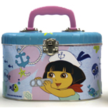 Sewing Box Dora the Explorer Sailor Metal Tin Box New Gifts Toys 46080