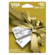 Visa Giftcard Wmt Ed Gc $50 Gold Gdb