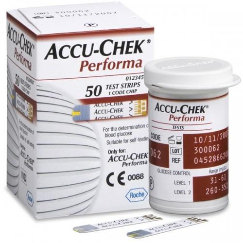 Accu-Chek Performa Test Strips, 50ct