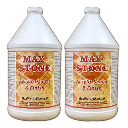 Max Stone Sealer & Finish - 2 gallon case