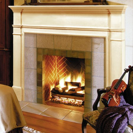 Pearl Mantels Windsor Wood Fireplace Mantel - Fireplace Surrounds Mantels