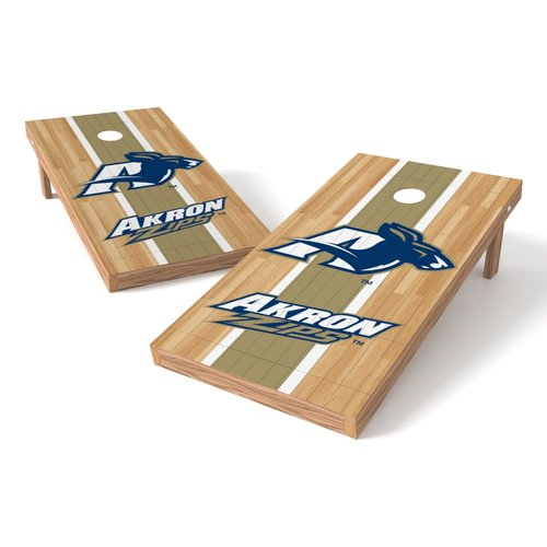 Wild Sports NCAA Hardwood XL Shield Cornhole Set