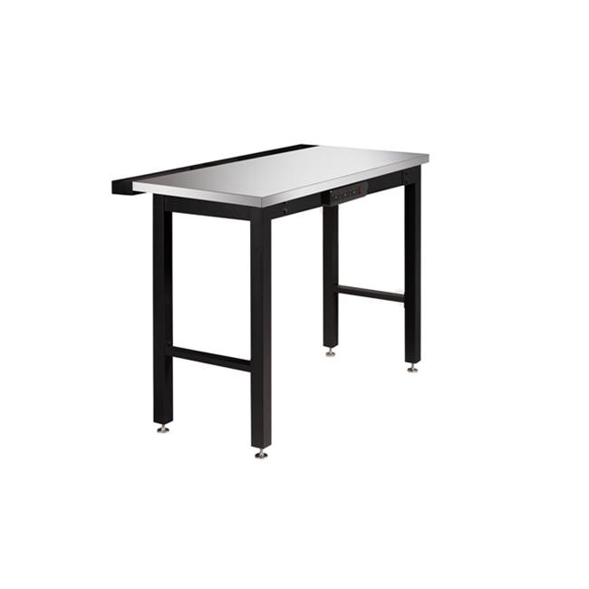 NewAge Products 31050 48 inch Workbench with Powerbar Stainless Steel