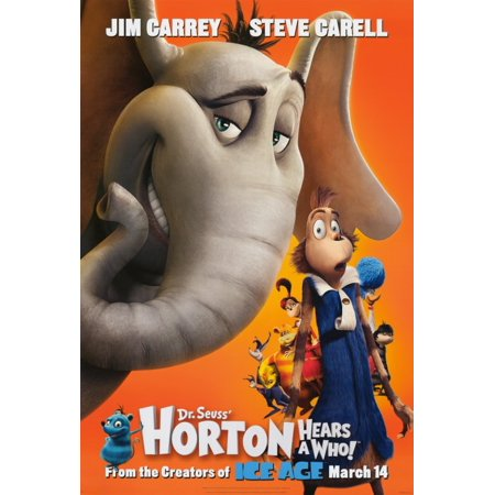 Dr. Seuss' Horton Hears a Who! (2008) 27x40 Movie Poster](Dr Seuss Poster)