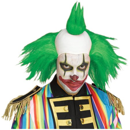 Twisted Clown Green Wig Krusty The Simpsons Costume Klown Halloween Costume - Green Clown Wig