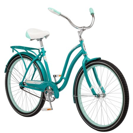 Schwinn Huntington Cruiser Bike, 26-inch wheel, single speed, teal