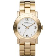MBM3056 Marc By Marc Jacobs Amy Gold-Tone Crystal Ladies Watch