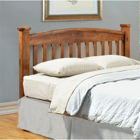 Furniture of America Legales California King Slat Headboard in Oak