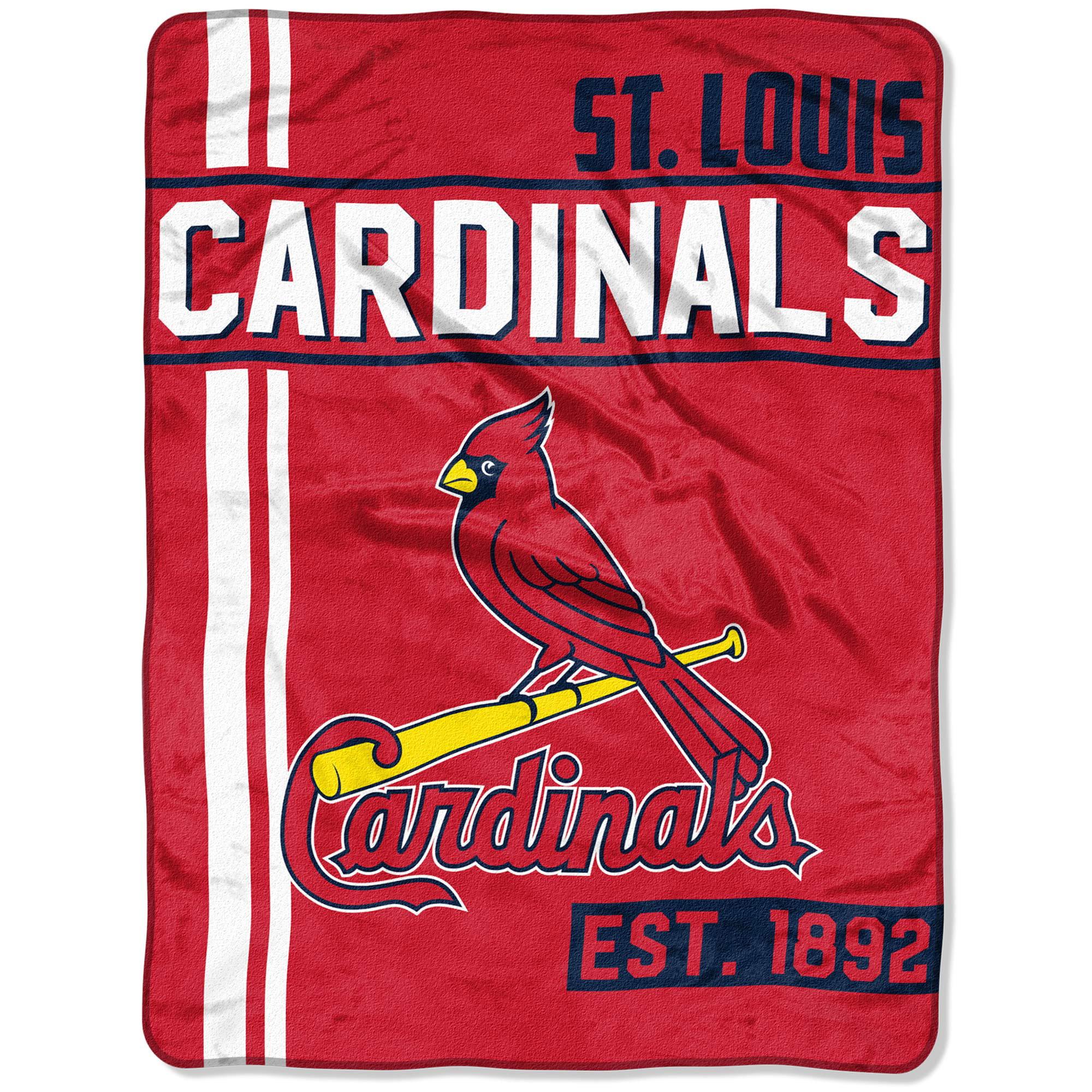 "MLB St. Louis Cardinals ""Walk Off"" 46""x 60"" Micro Raschel Throw"