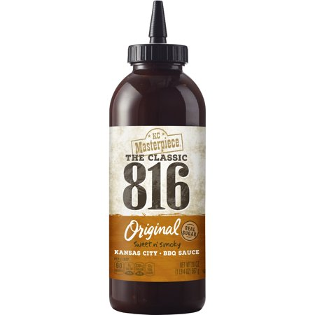 (2 Pack) KC Masterpiece 816 Original BBQ Sauce, 20 (Golden King Bbq)