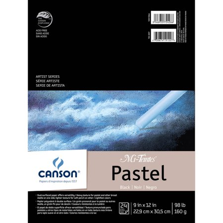 Canson Mi-Teintes Pastels Paper Pad, 9