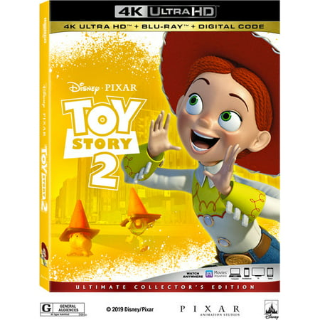 Toy Story 2 (4K Ultra HD + Blu-ray + (Definitive Dvd)