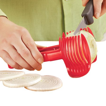 Hold & Slice Cooking Utensil - Unique Kitchen Gadgets, Easy to Use for  Gourmet Look