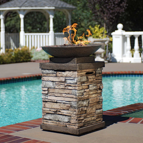 Newcastle LP Gas Firepit Bowl by Generic