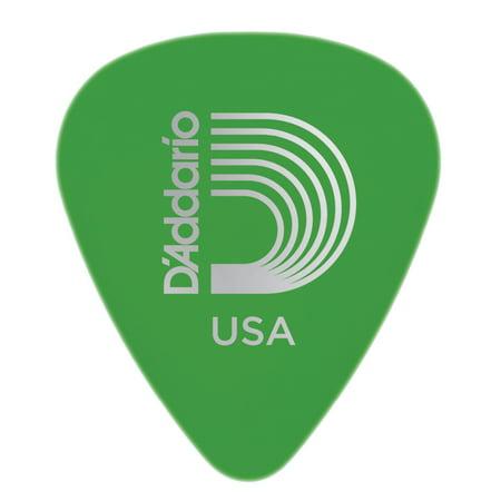 Planet Waves Delrin #351 Standard Guitar Picks - 33mm-Green, bag of 100 ()