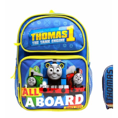"Thomas the Train Boys' No. 1 Thomas 12"" Backpack With Lunch Bag Set"