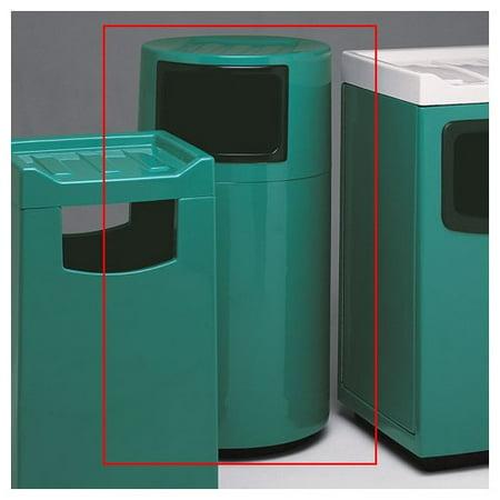 . Witt Food Court Receptacle 45 Gallon Trash Can   Walmart com