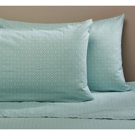 Mainstays 200 Thread Count Std/Q - Pillow CaseDiamond Primitive