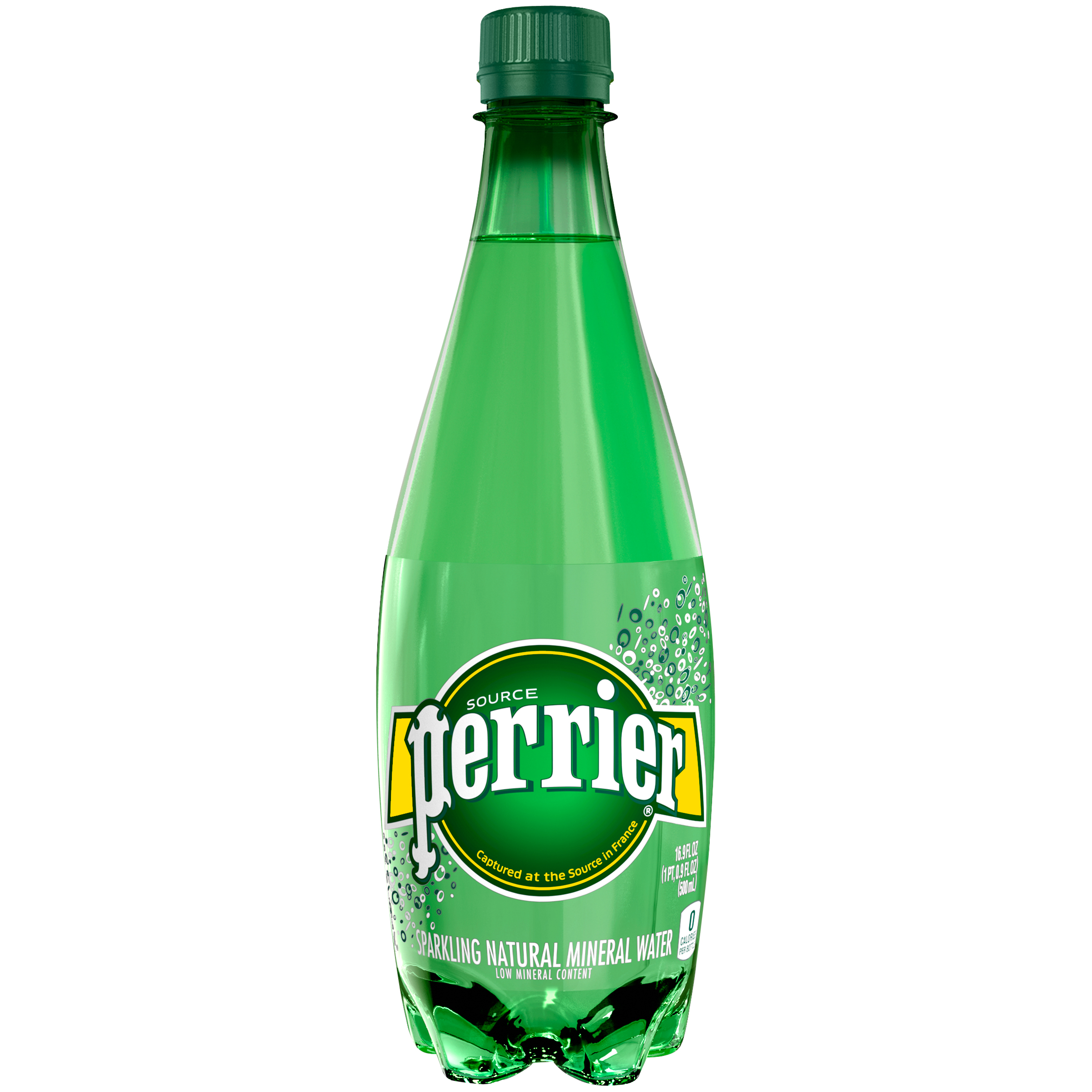 PERRIER Sparkling Natural Mineral Water, 16.9-ounce plastic bottle