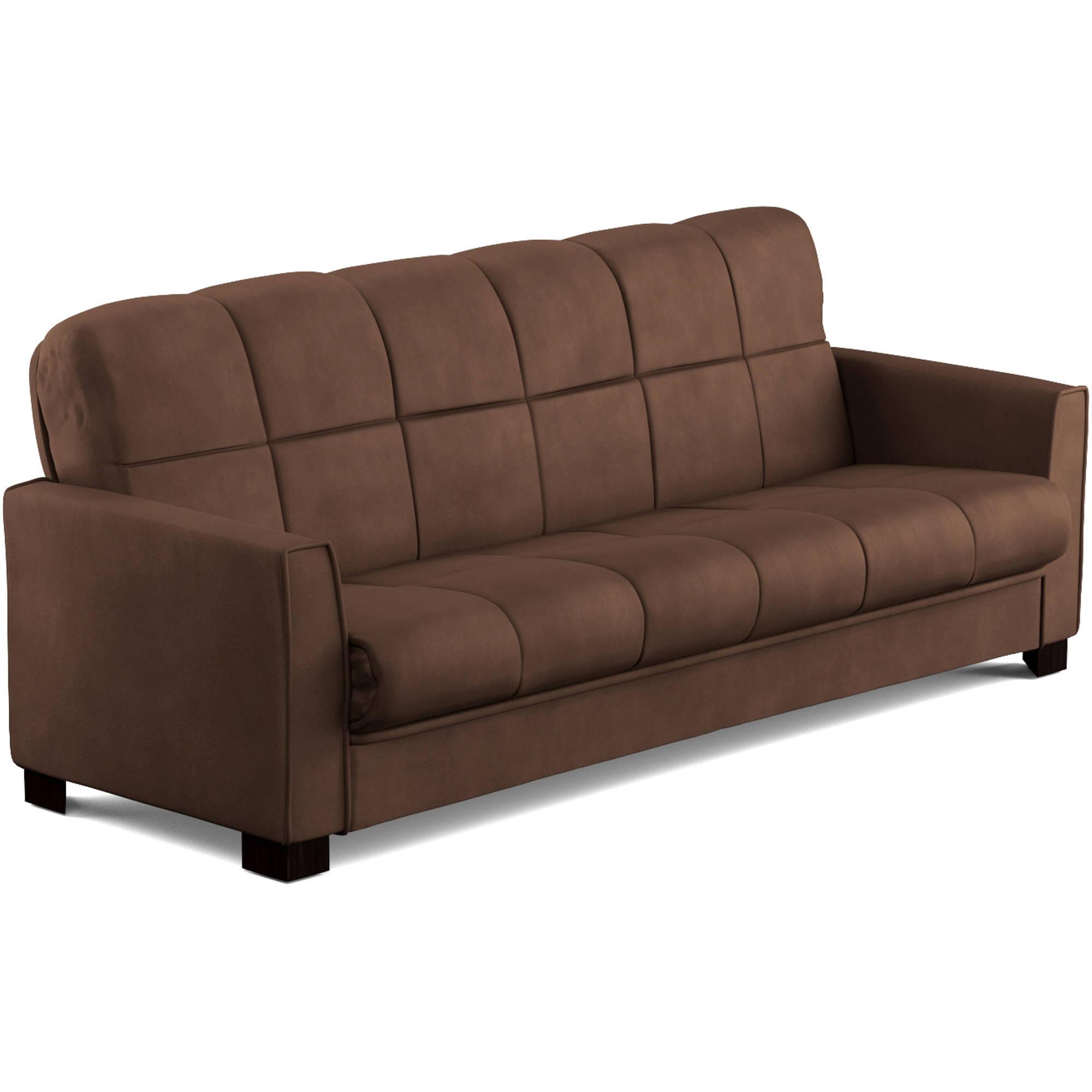 pics Mainstays Baja Futon Sofa Sleeper Bed, Multiple Colors