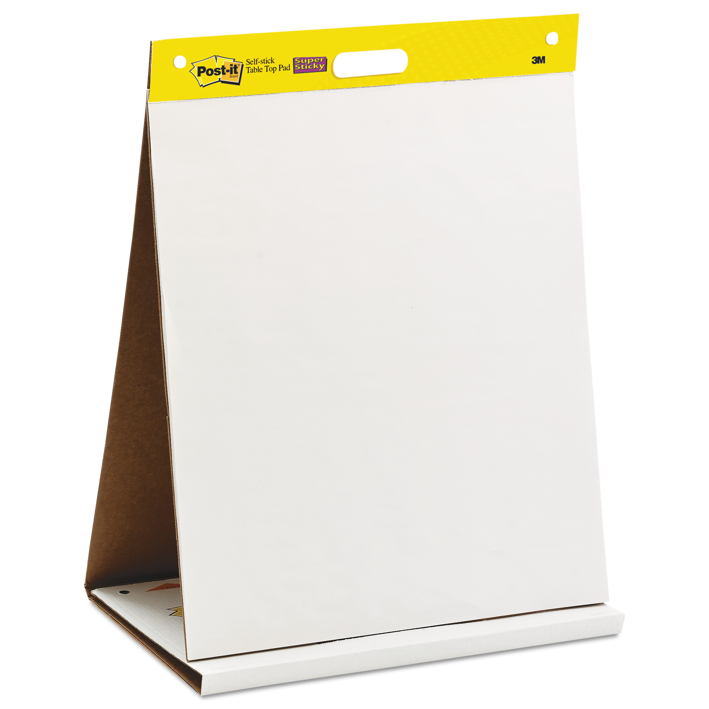 postit easel pads self stick tabletop easel unruled pad 20 x 23