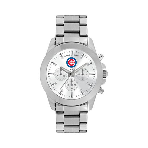 Gametime Women's Game Time Knockout Series MLB Chicago Cubs (One Size), stainless steel