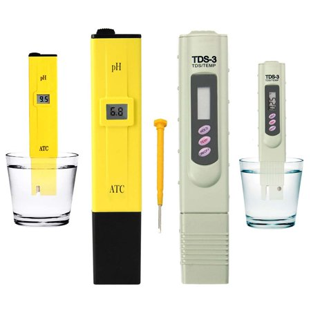 Digital Ph Meter + TDS Tester Aquarium Pool Hydroponic Water Monitor 0-9999 (Best Digital Ph Meter)