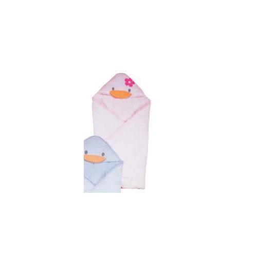 Piyo Piyo Stylish Summer Receiving Blanket in Pink
