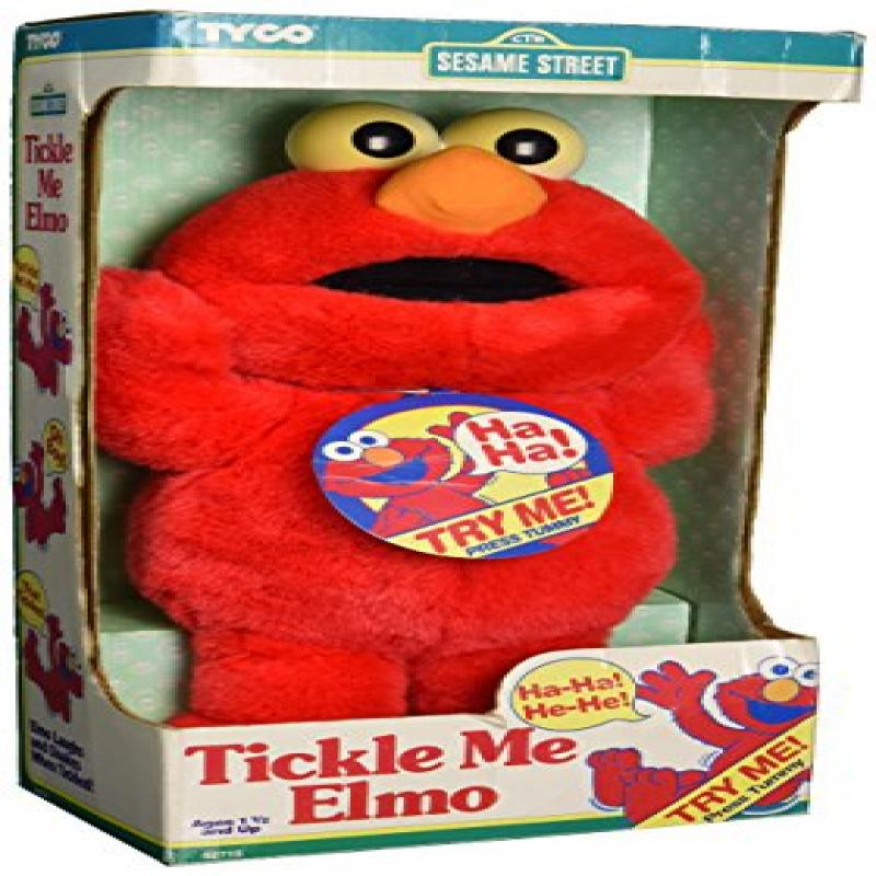 Tickle Me Elmo Original 1995 Vintage Plush Doll By Tyco by