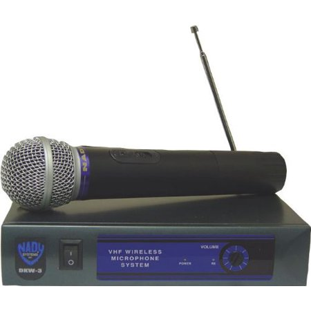 Cardioid Hand Held Microphone (Nady DKW-3HT/B Dkw-3 Handheld Wrls Mic Accs Cardioid Dynamic Hh Vhf Chn)