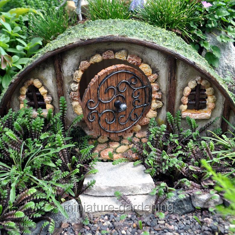 Marshall Home And Garden Hobbit House For Miniature Garden, Fairy Garden