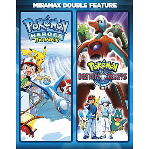 Pokemon Heroes Pokemon Destiny Deoxys Blu Ray Widescreen Walmart Com Walmart Com